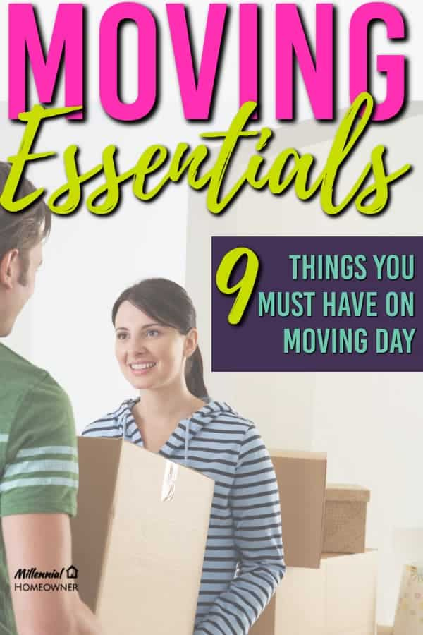 Want to have a smooth moving day? Make sure you don't leave any of these items off your list.