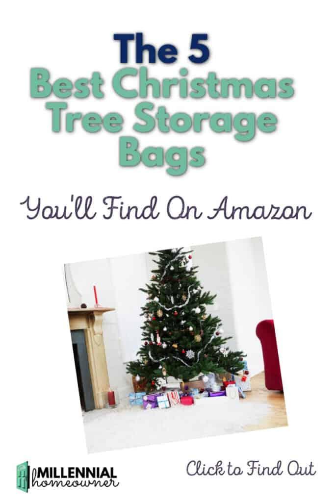 best Christmas tree storage bag ideas