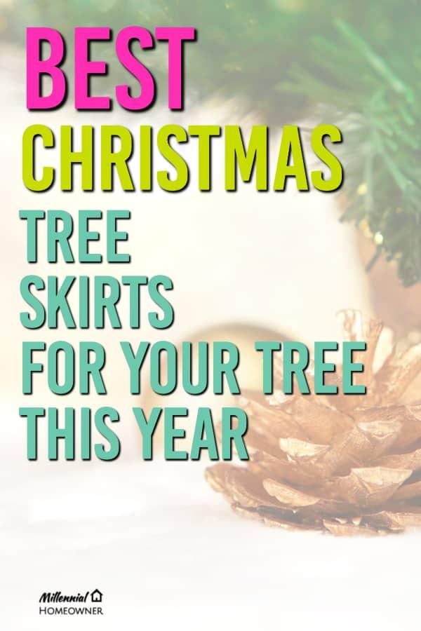 best christmas tree skirts