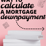 downpayment calculator for mortgage