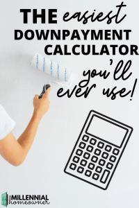downpayment calculator