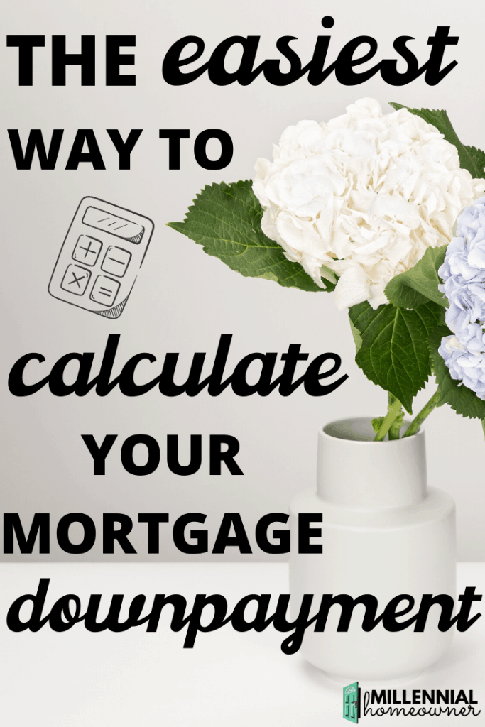 mortgage downpayment calculator