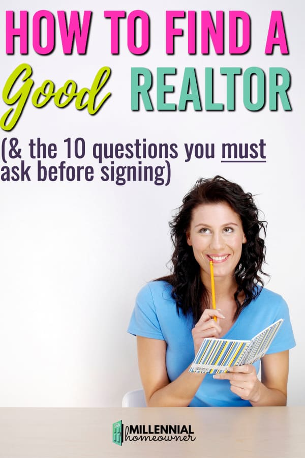 how to find a good realtor
