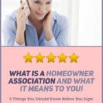 What is a Homeowner Association