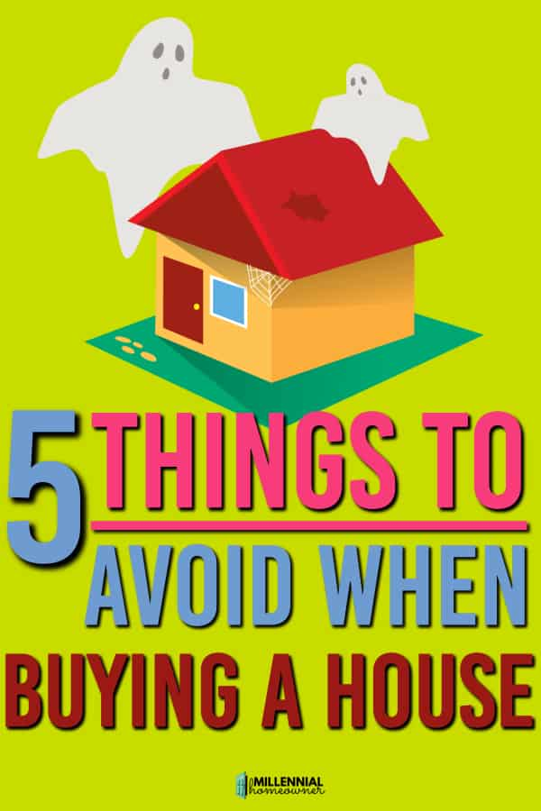 avoid things buying a house