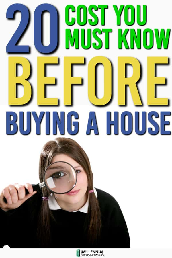 costs before buying a house