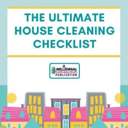 ultimate house cleaning checklist