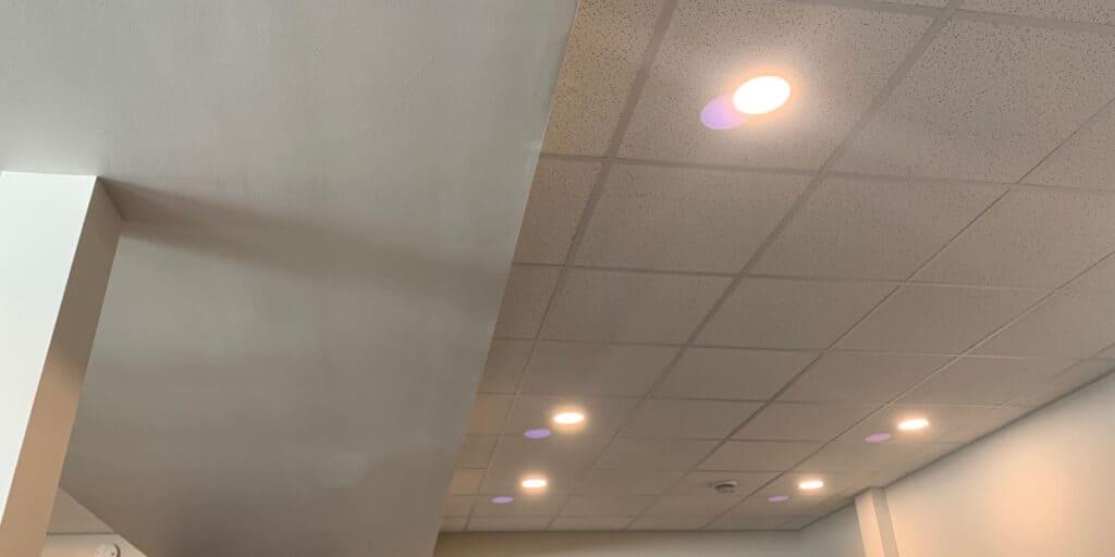 drop ceiling vs drywall ceiling