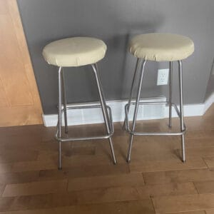 old bar stools
