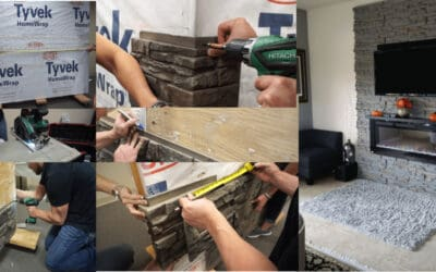 How to Install a Stone Veneer Fireplace