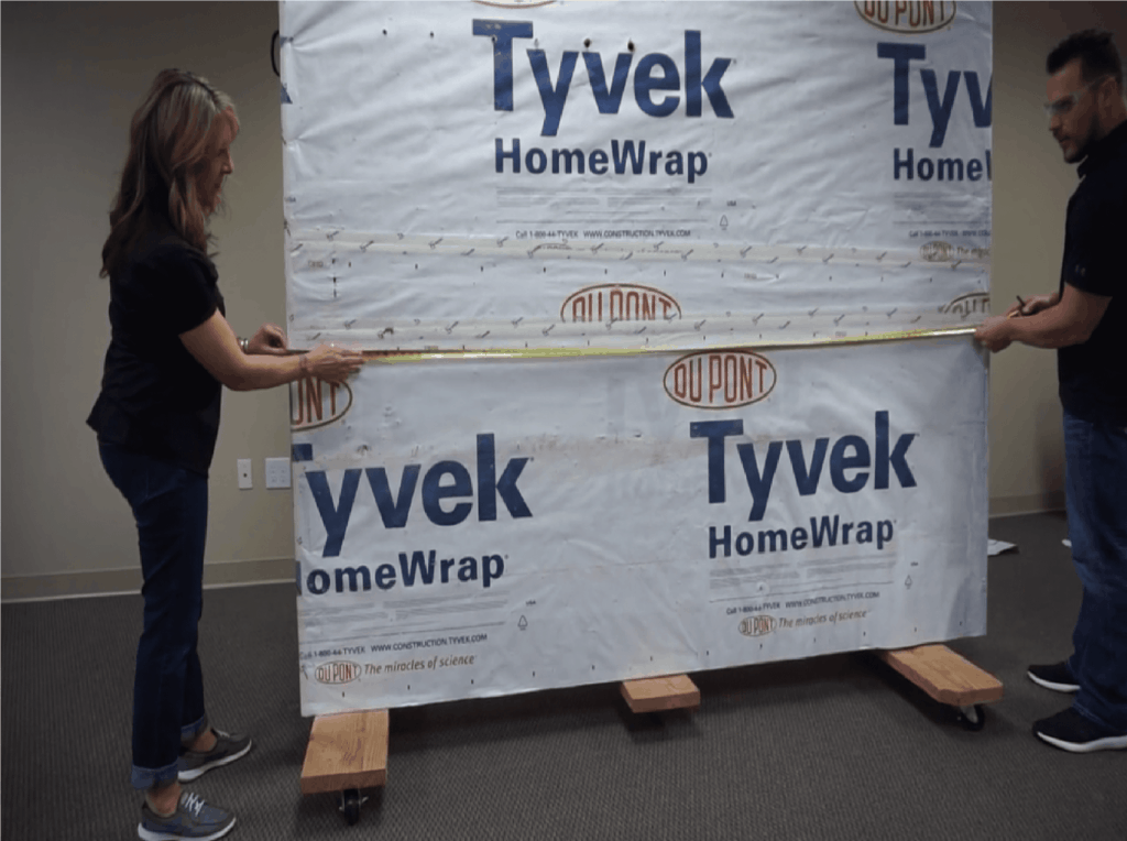 How to Install a Stone Veneer Fireplace Step 1, measuring