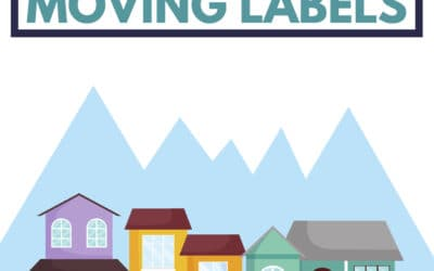 Free Moving Labels: DIY Printable Moving Labels