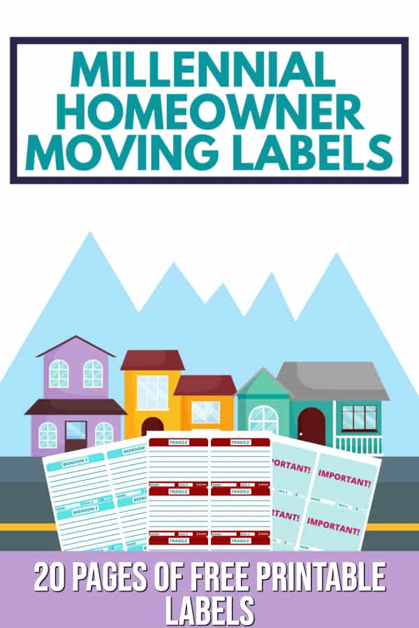 Free Printable Moving Labels Color Coded Moving Box Labels February 2021 Millennial Homeowner