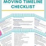 moving timeline checklist