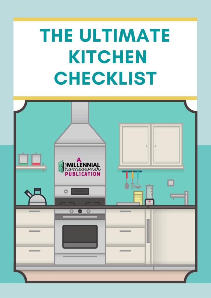 ultimate kitchen checklist