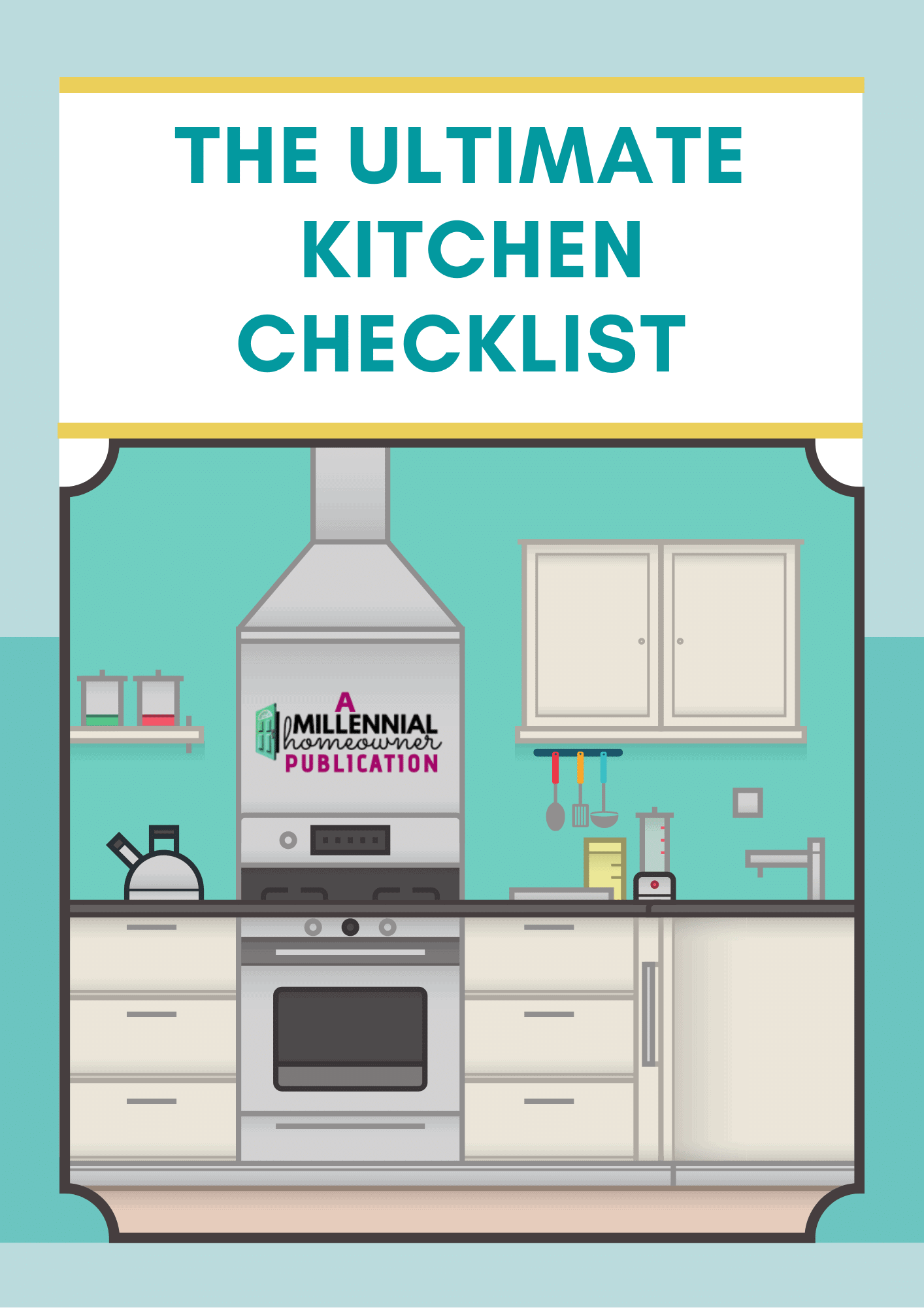 ultimate kitchen checklist
