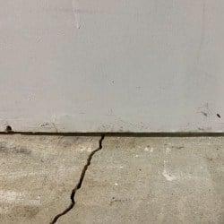 Water Seeping Through Basement Floor Crack