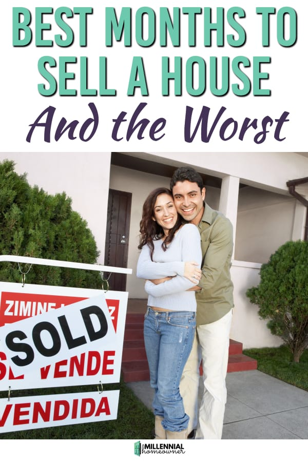 best month to sell a house