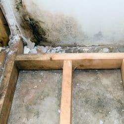 damp basement from hydrostatic pressure