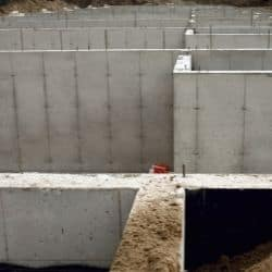 wet basement gaps in concrete slab