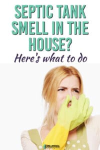 septic tank smell in the house