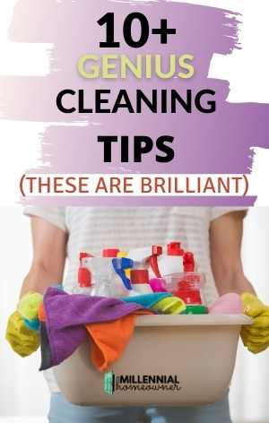 genius cleaning tips
