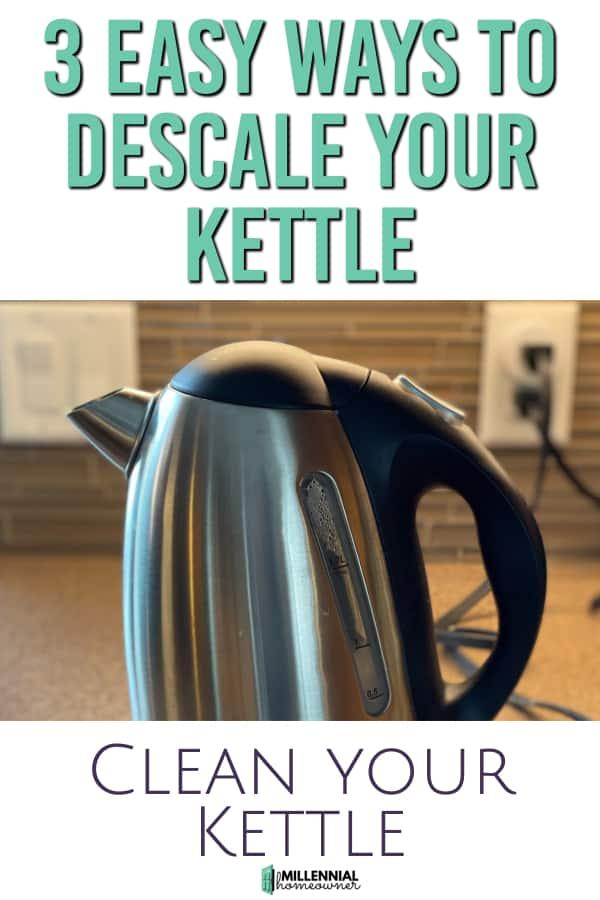 descale your kettle