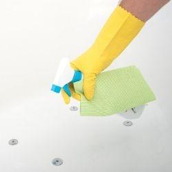 how to bleach a bathtub
