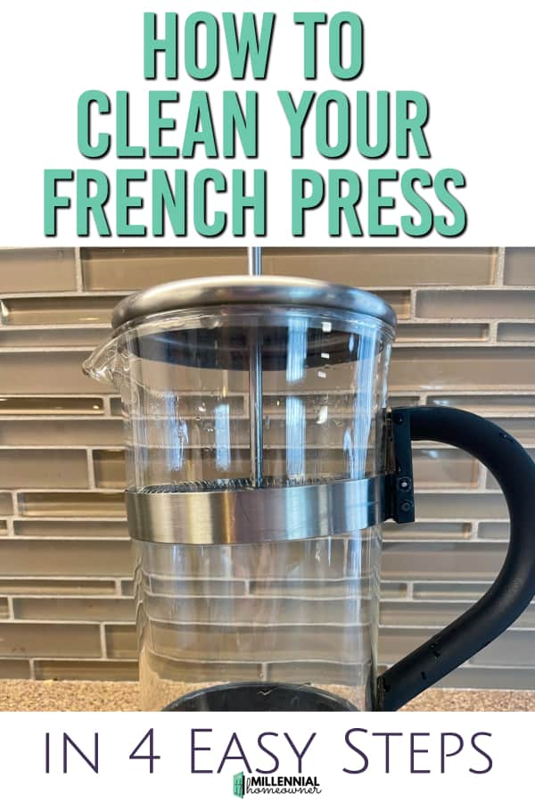how to clean a french press (1)