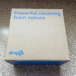 box of dropps laundry detergent