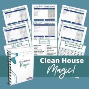 clean house magic binder