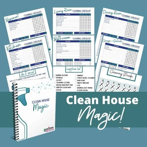 clean house magic binder