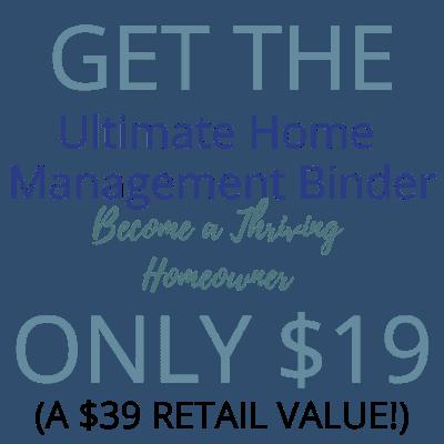 home management binder pricing