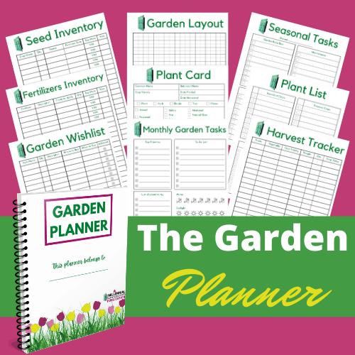 Garden binder pages