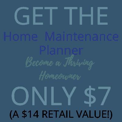 home maintenance planner promo