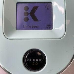 touch screen keurig k 250