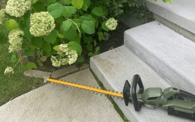 Green Machine Review: Battery Powered Outdoor Tools