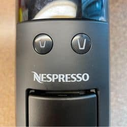 how to descale your nespresso by holding down both buttons