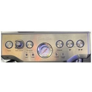 Breville Barista Express Review Control Panel